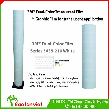 Film 3M Dual Color Series 3635 - 210 White