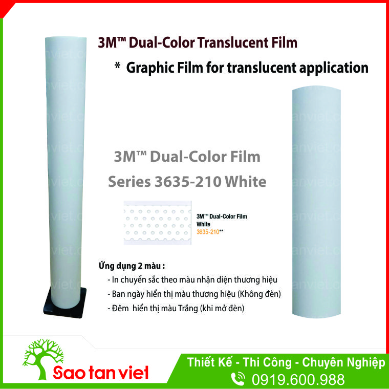 Dual Color 3635 210 White