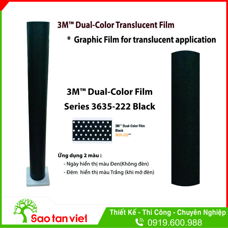 Dual Color 3635 222 Black