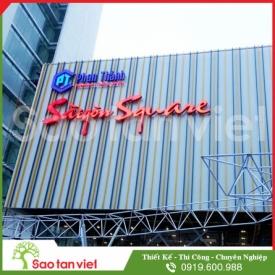 Chữ Tole Sơn Tĩnh Điện - Film 3m - Led Module (Sg Square)
