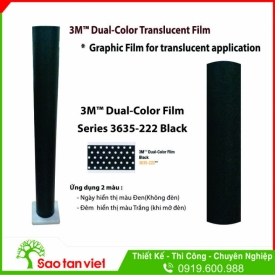 Film 3M Dual Color Series 3635 - 222 Black