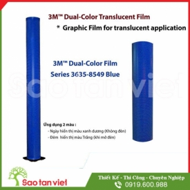 Film 3M Dual Color 3635 - 8549