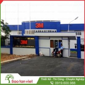 Nhà xưởng Cty 3M Việt Nam