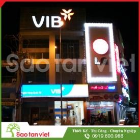 Hộp Đèn - Chữ Decal 3m (Vib Bank)