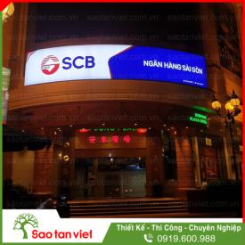 BIỂN HIỆU - HỘP ĐÈN 3M - SCB BANK