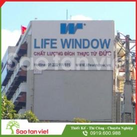 Pano Alu - Chữ Tole - Đèn Neon (Life Window)