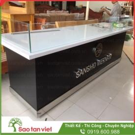 Quầy trưng bày sản phẩm SANSHO VIETNAM