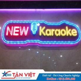 Bảng Logo Đèn Led (Karaoke New)