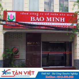 Hộp Đèn Biển Hiệu Hiflex Chữ Mica (Bảo Minh)