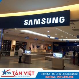Hộp Đèn Aluminium Chữ Lọng (Samsung)