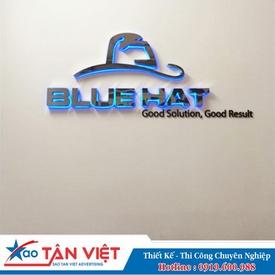 Chữ Inox Làm Nổi - Led Module Dạ Sáng (Blue Hat)