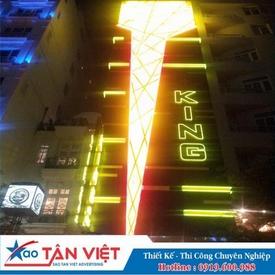 Chữ Alu làm nổi - Đèn Neonsign và Led (King)