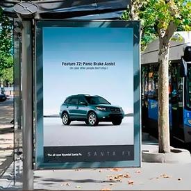 Poster Quảng Cáo ngoài trời - Trạm xe bu