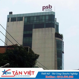 ROOFTOP SIGN TOLE - MẶT DÁN DECAL 3M (PSB)