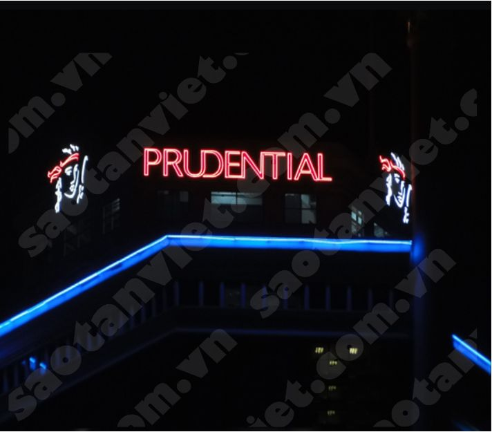 Rooftop sign Chữ tole - Đèn Neon Sign (Pru ITC)